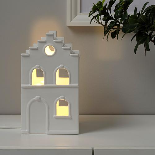 STRÅLA adorno mesa LED, 15x25cm
