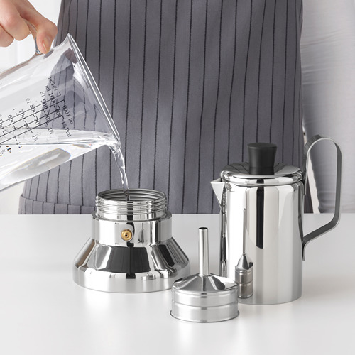 METALLISK cafetera para placa, 0.4l