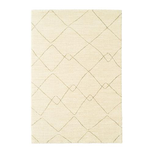 TVERSTED alfombra, pelo corto, 133x195cm