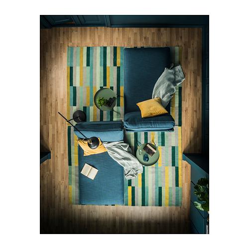 KRÖNGE alfombra, pelo corto, 170x240cm