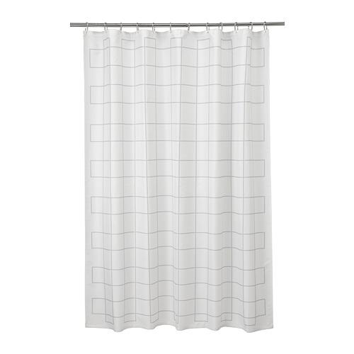 RÄLLSJÖN cortina ducha, 180x200cm