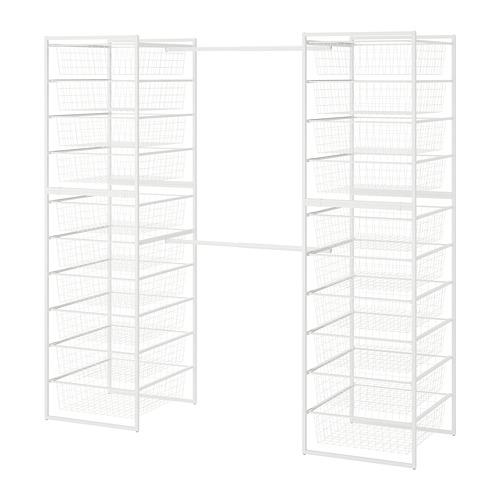 JONAXEL estructura+cesta de rejilla ancha+barras
