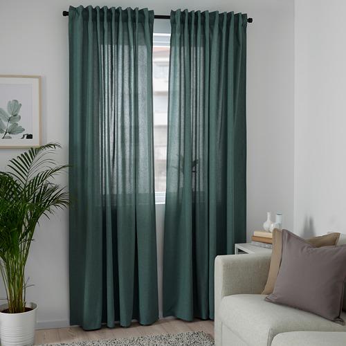 HANNALENA cortinas, 1 par