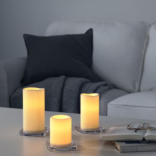 GODAFTON vela gruesa LED int/ext j3
