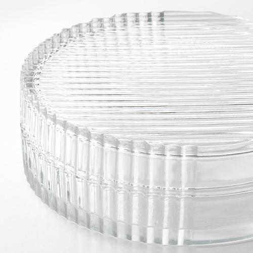 SAMMANHANG caja vidrio con tapa