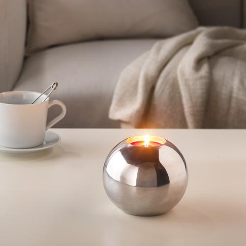 SINNLIG vela aromática con base de metal