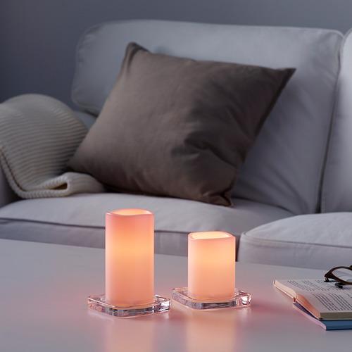 GODAFTON vela gruesa LED int/ext j2