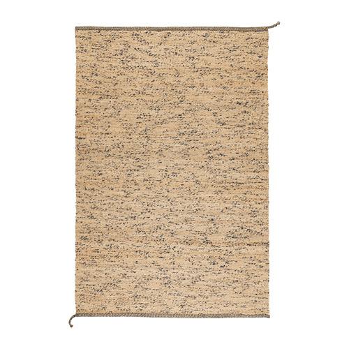 MELHOLT alfombra, lisa, 133x195cm