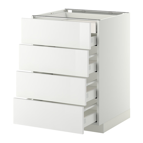 METOD/MAXIMERA armario bajo cocina 5 cajones