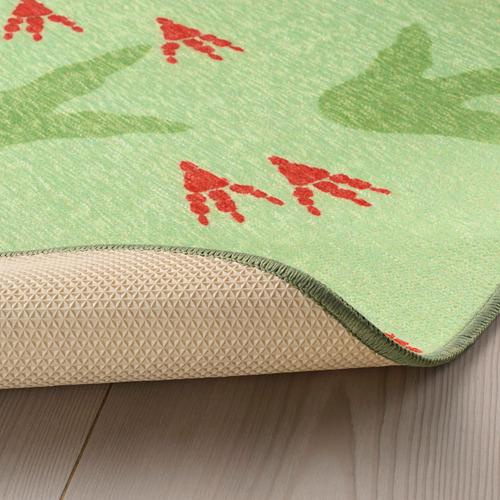 JÄTTELIK alfombra, 100cm de diámetro