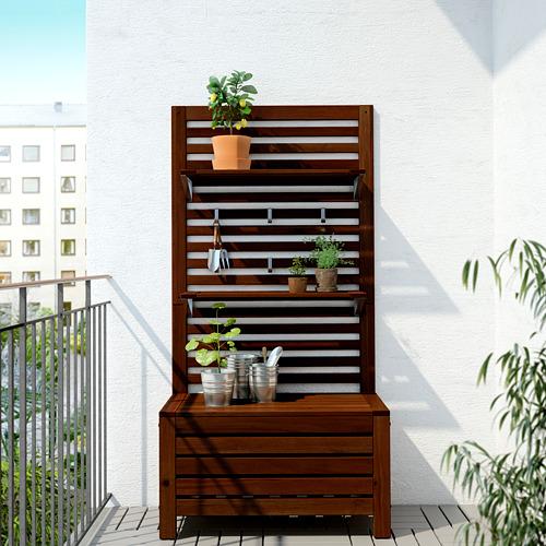 ÄPPLARÖ banco+panel+baldas ext