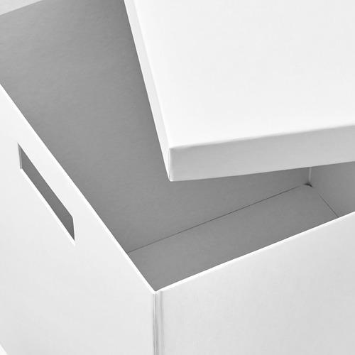 TJENA caja con tapa,35x32x32cm