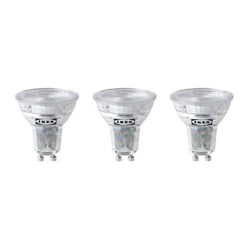 RYET bombilla LED GU10 230lm, 3 unidades