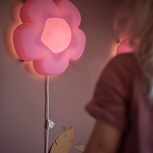 UPPLYST lámpara de pared, incluye bombilla
