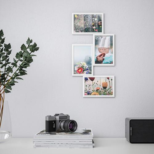 YLLEVAD marco para 4 fotografías de 10x15cm