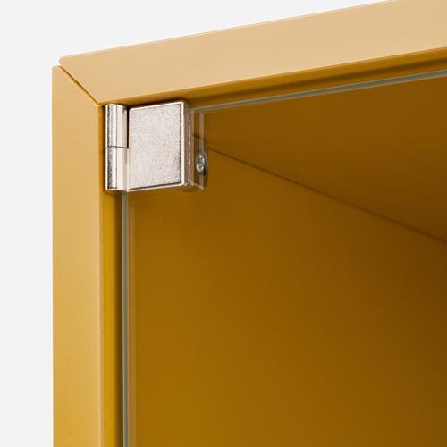 EKET armario de pared con vitrina