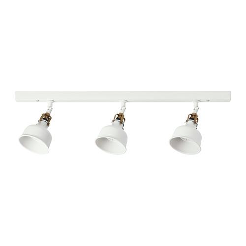 RANARP lámpara techo&3 focos