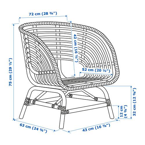 BUSKBO sillón