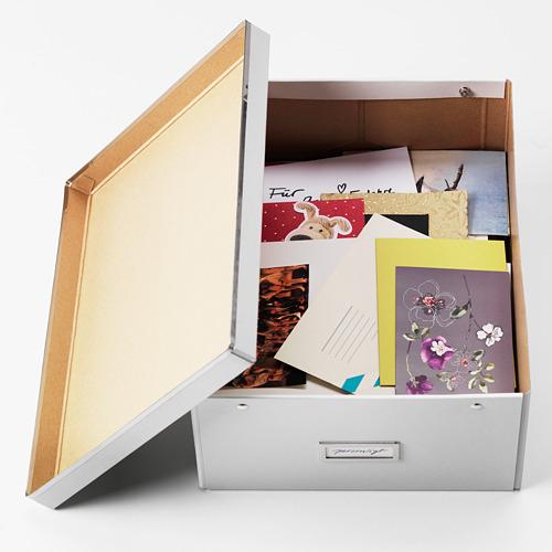 SMÅRASSEL caja con tapa