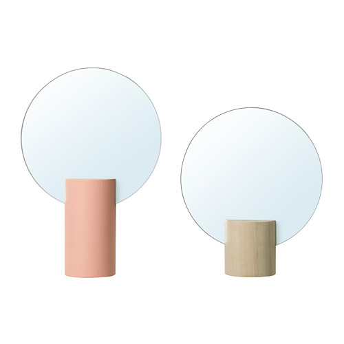 LIHOLEN espejo, juego de 2 unidades
