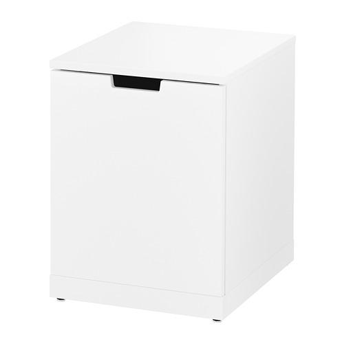NORDLI cómoda vertical de 1 cajón, 40x47x54cm