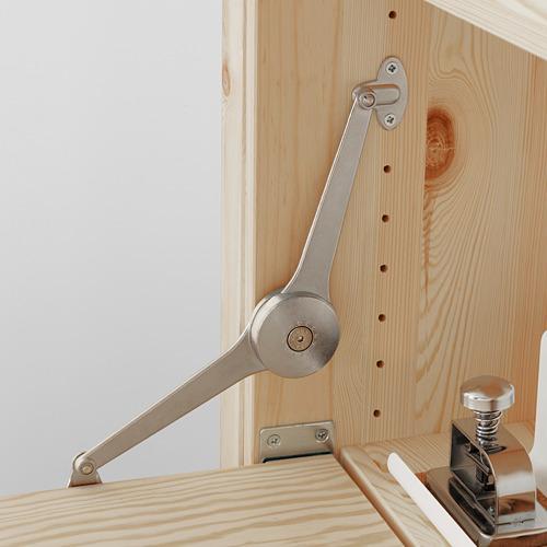 IVAR Estantería, 1 sección con estantes y mesa plegable, 89x30y104x179cm