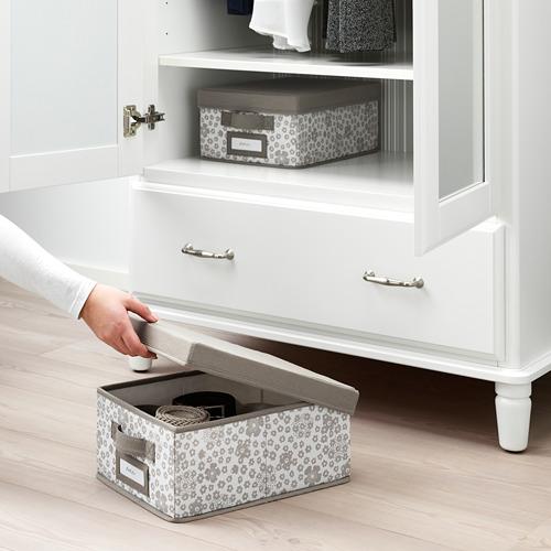 STORSTABBE caja con tapa