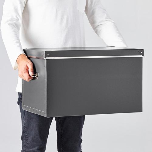FJÄLLA caja de almacenaje  con tapa