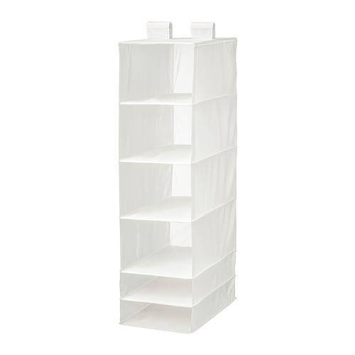 SKUBB almacenaje colgante con 6 compartimentos