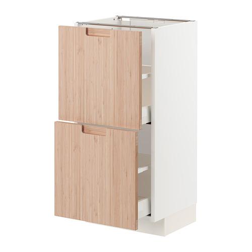 METOD/MAXIMERA armario bajo cocina con 2 cajones