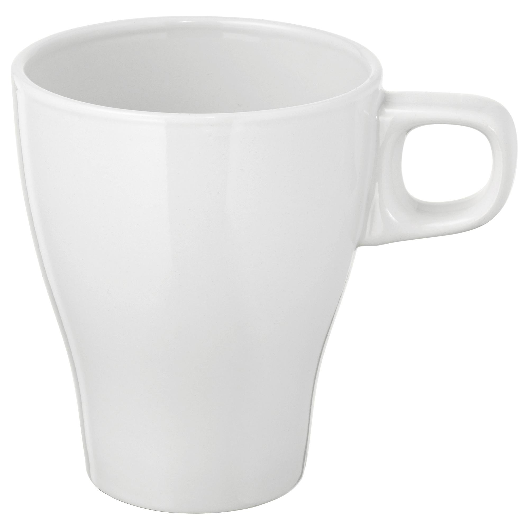 FÄRGRIK mug white 8oz