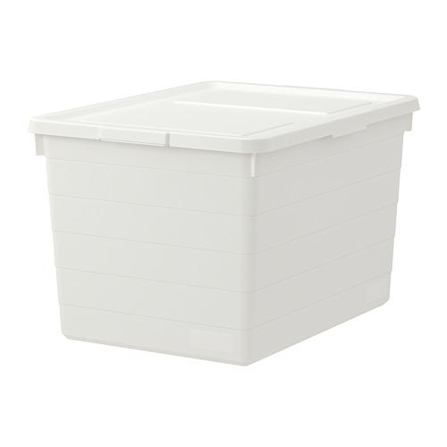 SOCKERBIT caja con tapa, 38x51x30 cm
