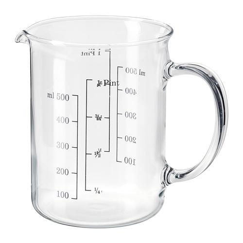 VARDAGEN jarra graduada, 0,5 l