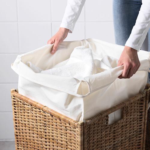 BRANÄS cesto de ropa forrado