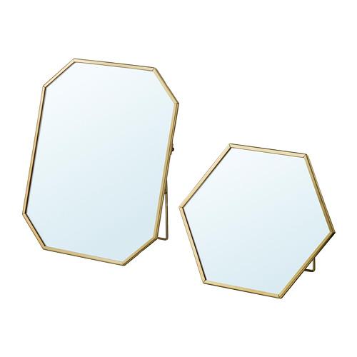 LASSBYN espejo, 2 unidades
