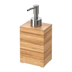 DRAGAN Juego de baño, 4 unidades, bambú IKEA