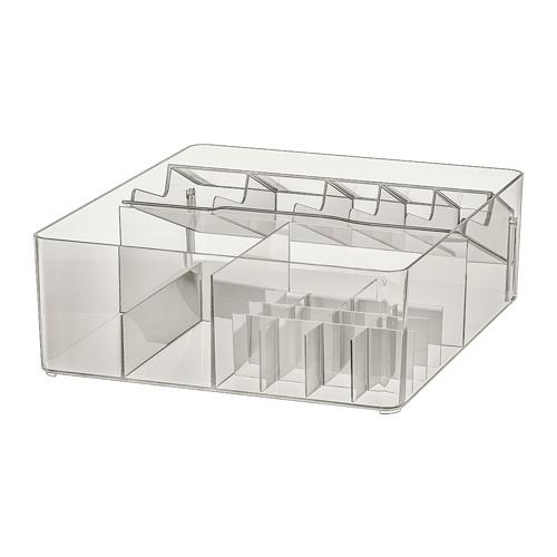 GODMORGON caja con compartimentos