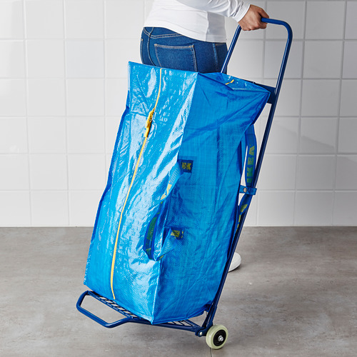 FRAKTA carrito con bolsa
