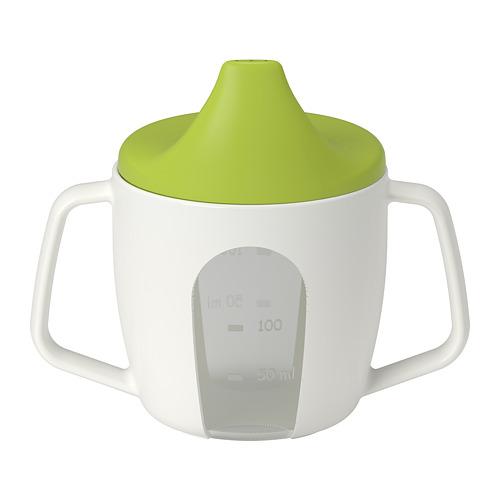 BÖRJA vaso para bebé con tapa