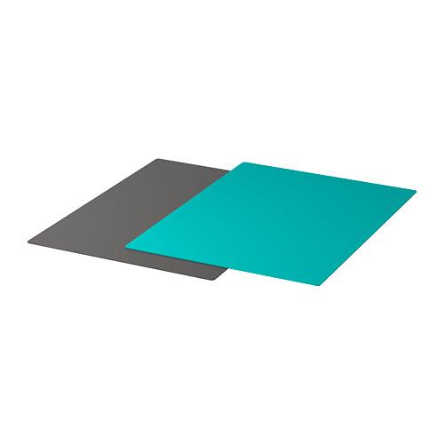 FINFÖRDELA tabla de cortar flexible, 2 unidades, 36x28cm
