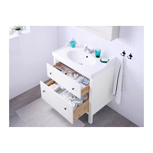 HEMNES armario lavabo 2 cajones