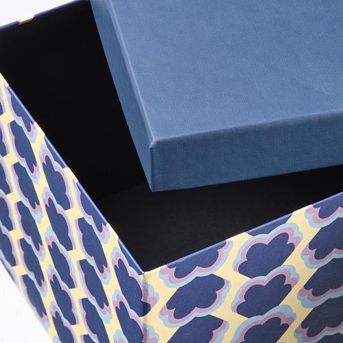 TJENA caja con tapa, 18x15cm
