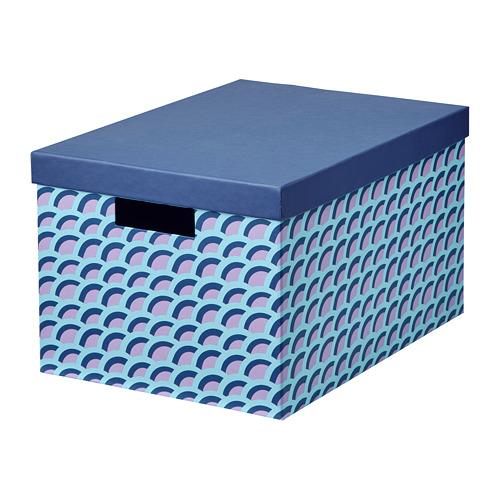 TJENA caja con tapa, 25x20cm