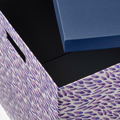 TJENA caja con tapa, 32x32cm