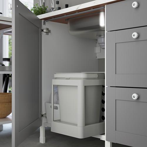 ENHET armario bajo para fregadero con puerta,60x60x75cm