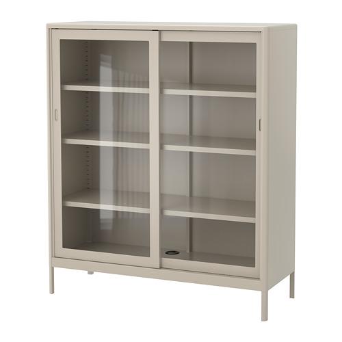 IDÅSEN armario+puertas correderas vidrio