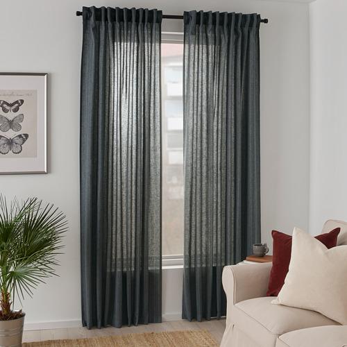 MILDRUN cortinas, 1par