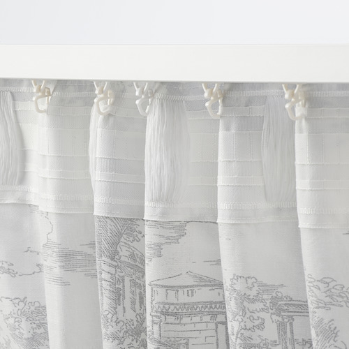 STJÄRNRAMS cortinas, 1par