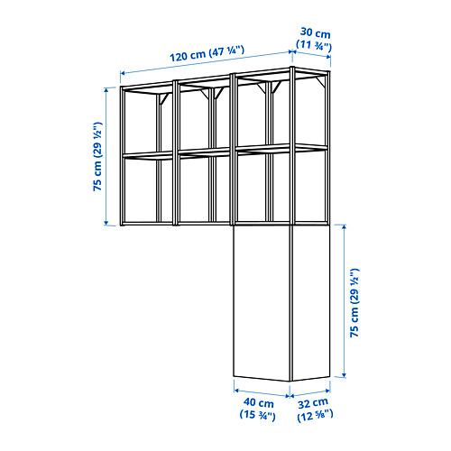 ENHET combinación para la colada, 120x30x150cm