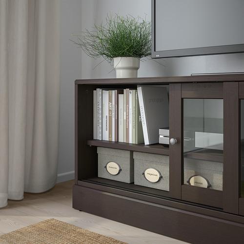 HAVSTA mueble TV con zócalo, 160x47x62cm